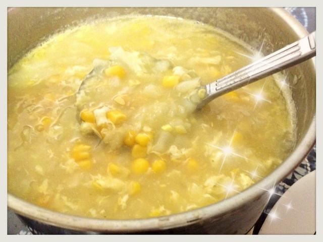 玉米蔬菜濃湯