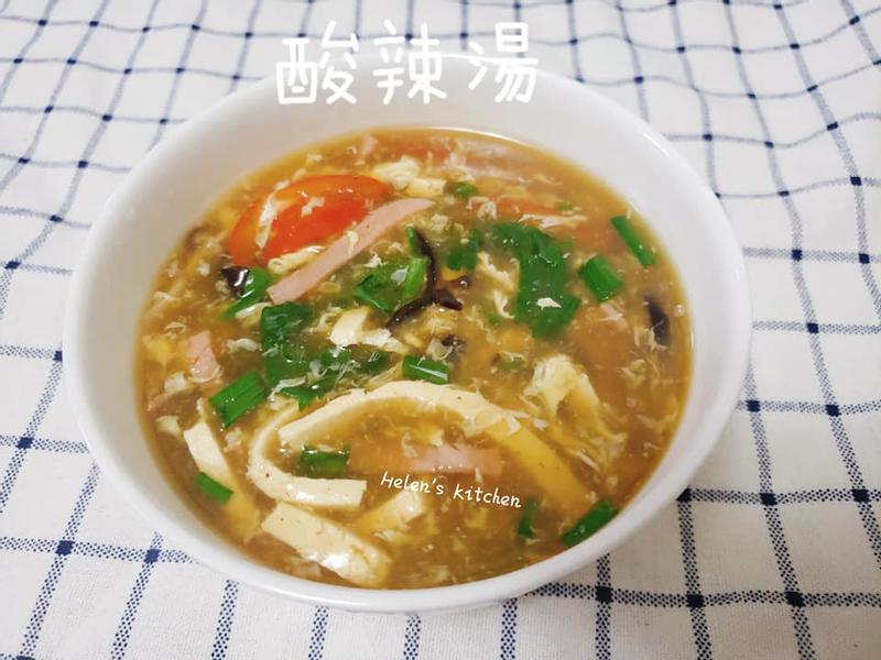 超級開胃   好喝的 酸辣湯