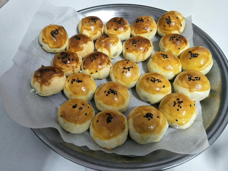 蛋黃酥 約做36顆