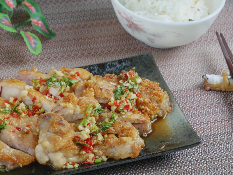 #42 椒麻雞