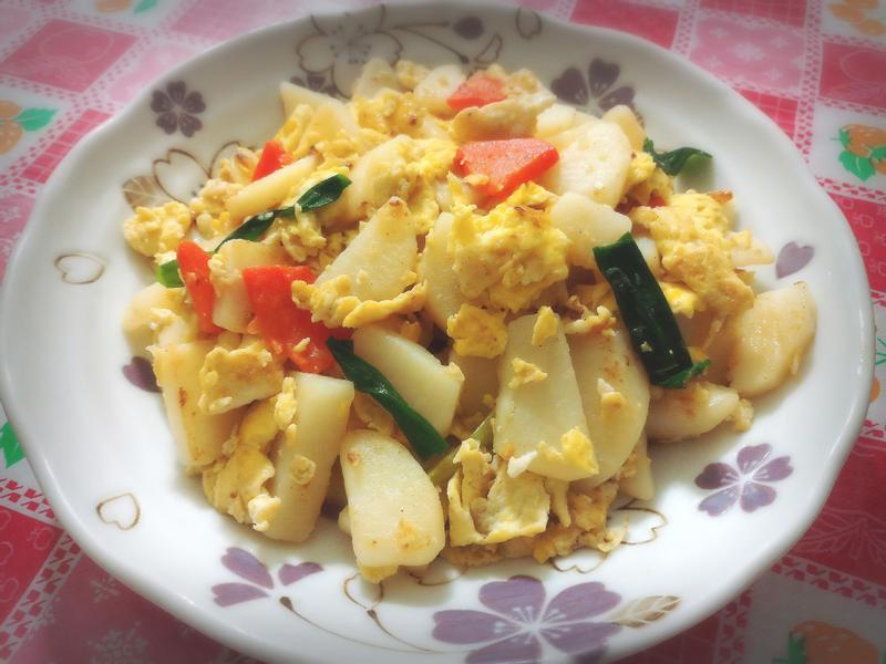 馬鈴薯炒蛋