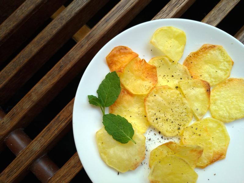 薄鹽馬鈴薯片∣零食