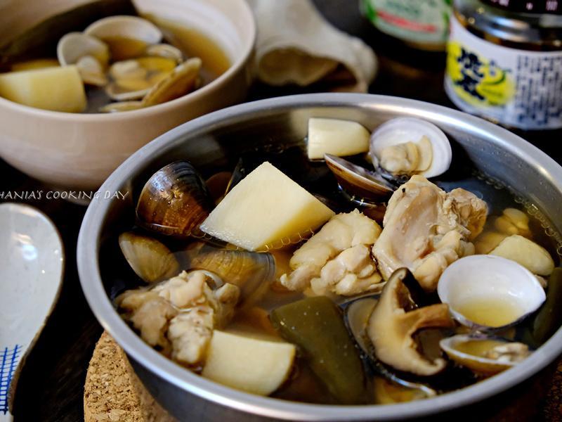 剝皮辣椒蛤蠣雞湯 - 暖身又暖心的入秋湯