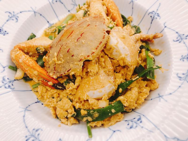 異國料理 <海鮮> 泰式咖哩螃蟹