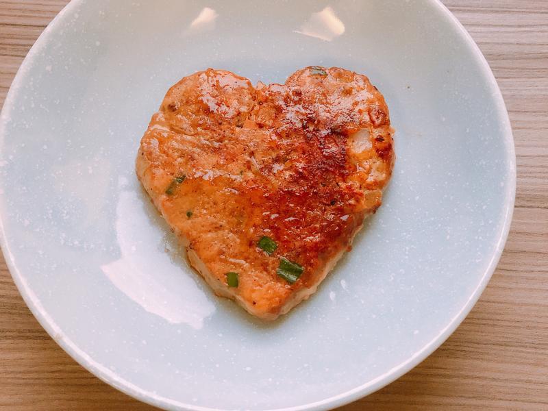 減肥好料理-愛心牛肉漢堡排