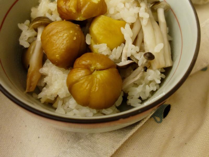 秋栗鮮菇炊飯