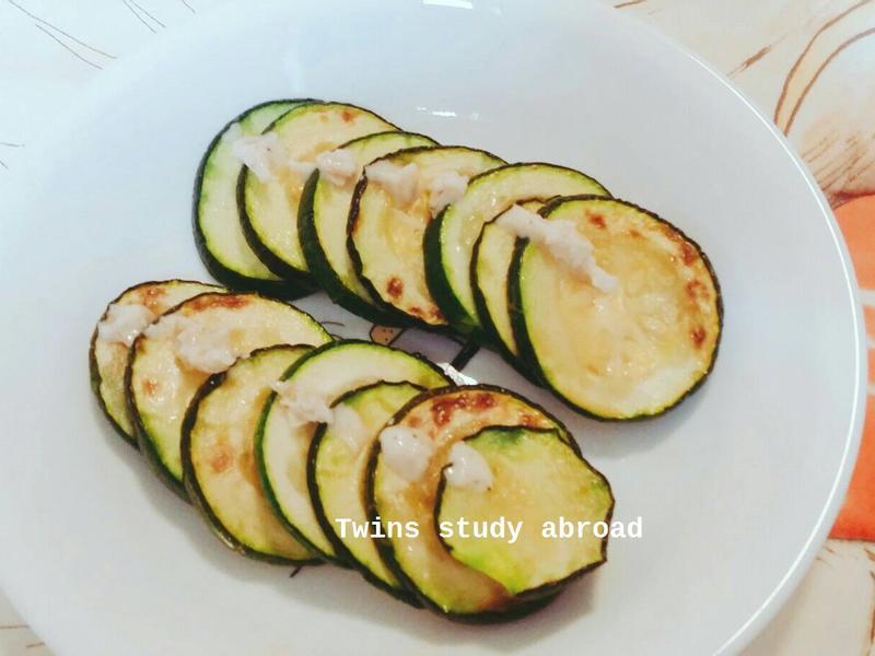 電鍋烤櫛瓜
