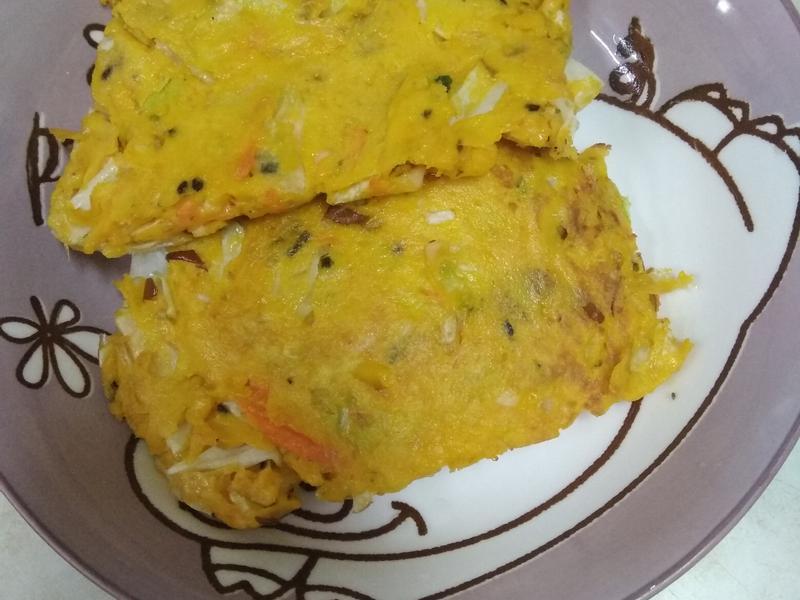 南瓜沙拉煎餅