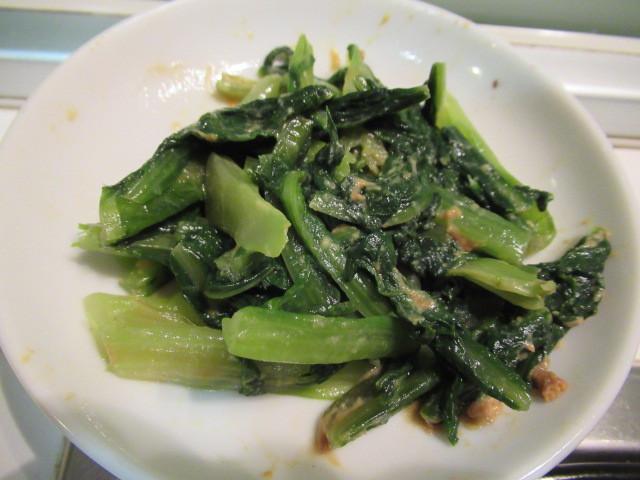 日式芥末拌A菜