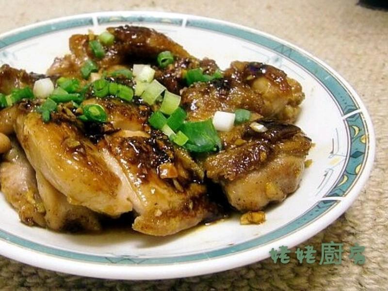 蜂蜜蒜香雞