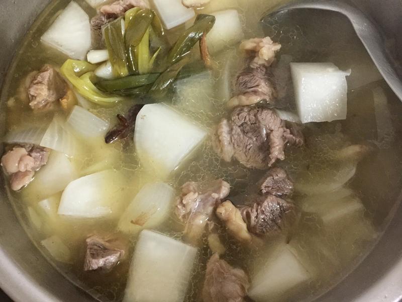 解酒的清燉牛肉湯