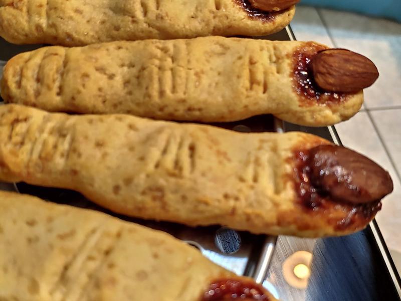 【萬聖節必備】巫婆手指餅乾