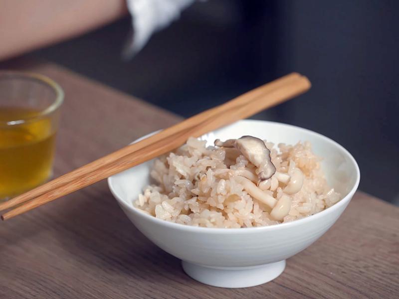 (電鍋版)日式野菇炊飯