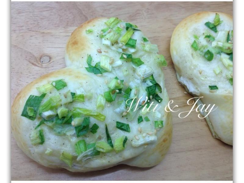 [Witi✿Kitchen](麵包機-麵包)心蔥麵包