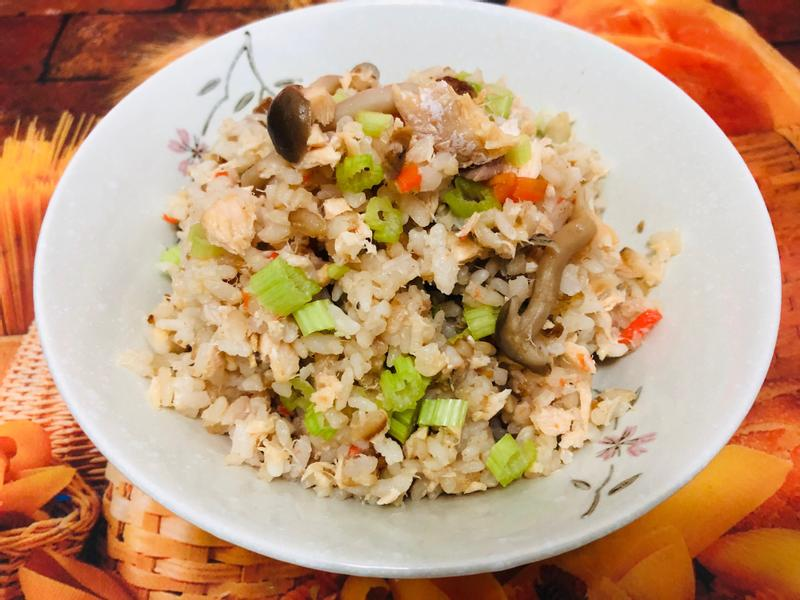 鮭魚山藥炊飯(飛利浦智慧萬用電子鍋)