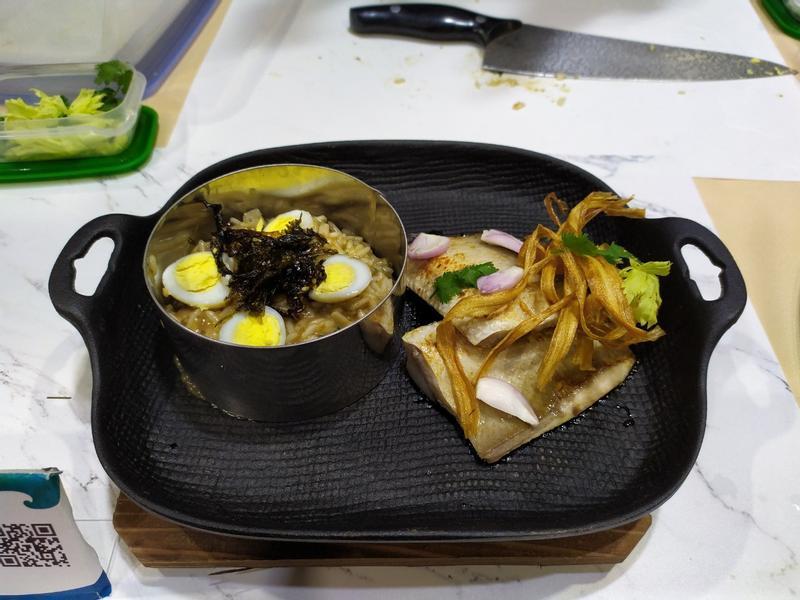 虱目魚海苔風味燉飯