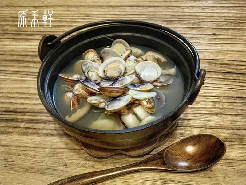 香菇蛤蜊雞湯