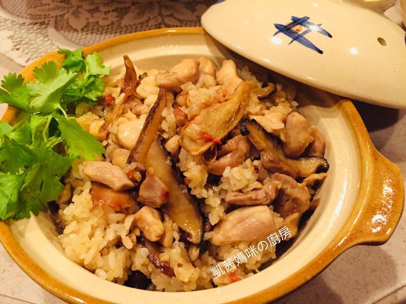 [冬至]香菇麻油雞飯🎶
