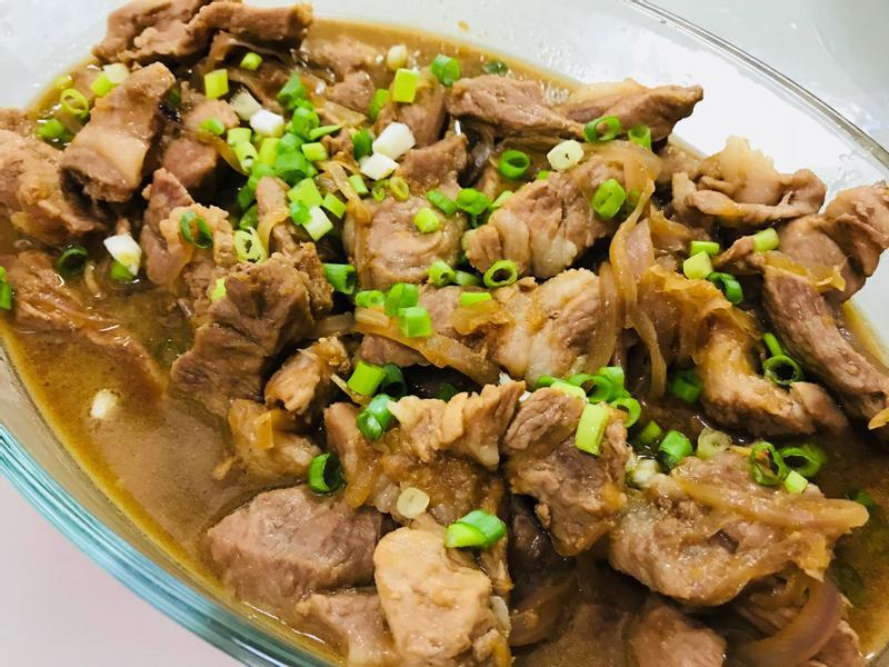 暖心料理:薑燒蔥味大塊肉
