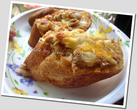 焗烤洋蔥鮪魚法國麵包*懶人版*