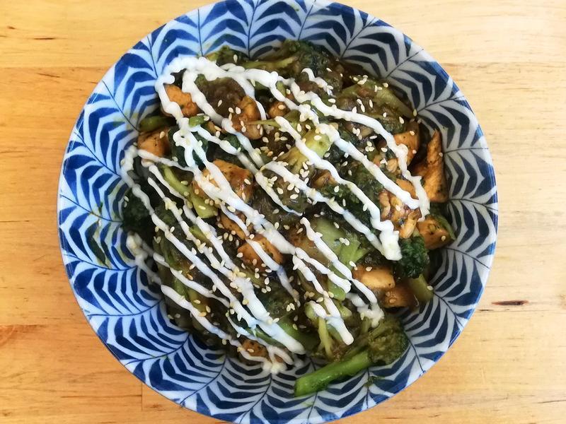 《一餐一道菜》花椰菜雞胸肉蓋飯