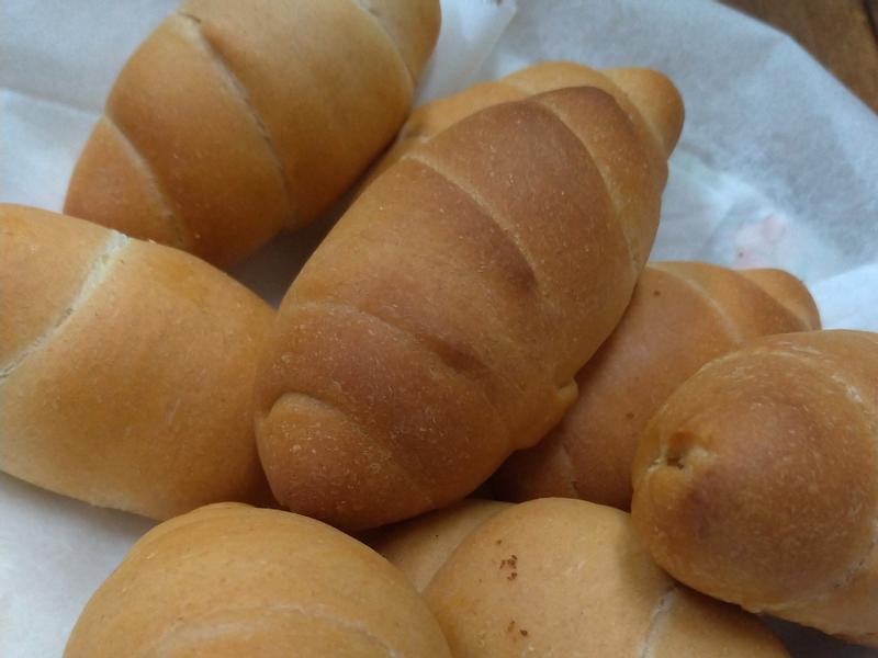 鹽可頌 (麵包機&水波爐)