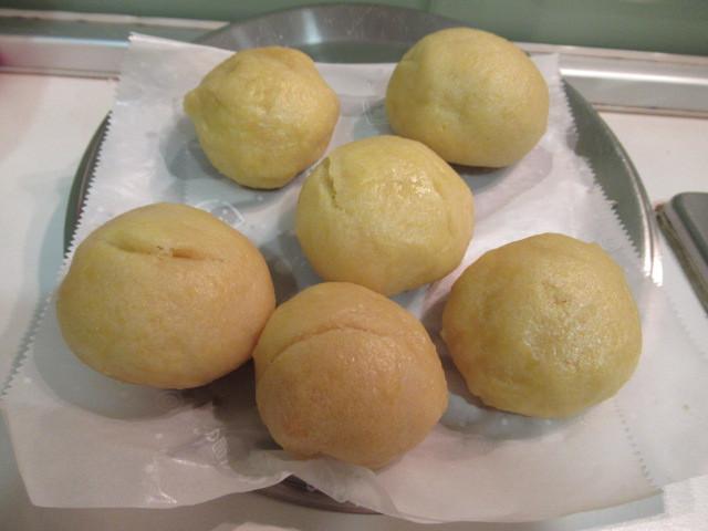 高野豆腐玉米饅頭