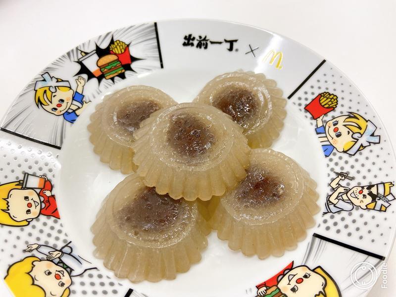 【蒸】紅豆沙西米糕