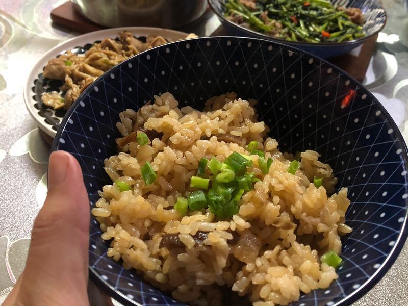 蘿蔔香菇炊飯