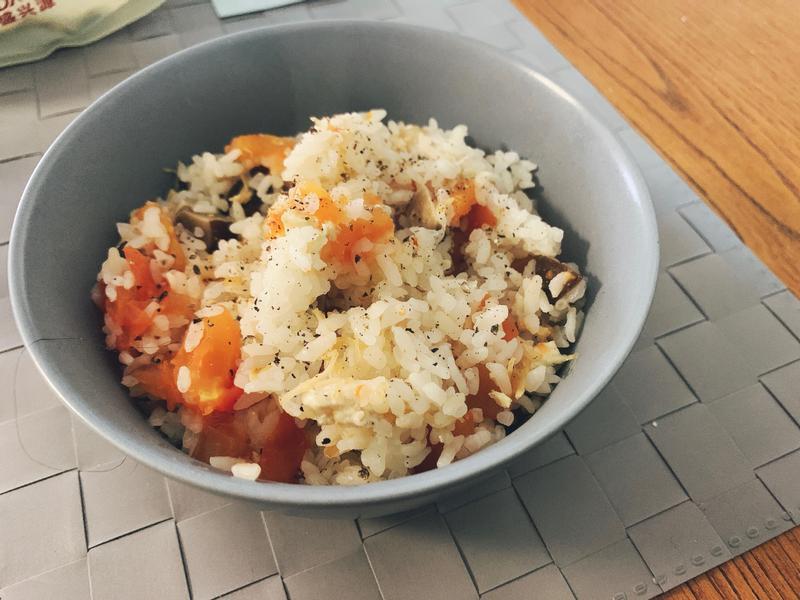 [鑄鐵鍋]瑤柱香菇炊飯