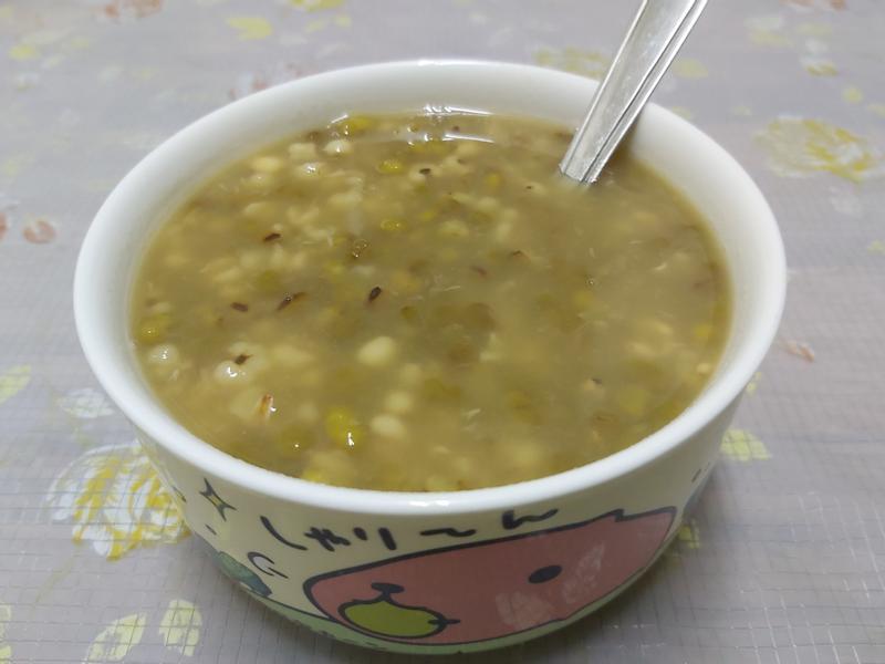 飛利浦萬用鍋~薏仁綠豆湯~中華二門市