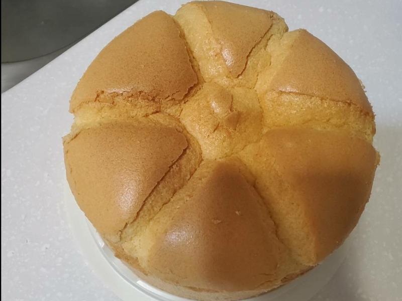 原味戚風蛋糕6吋