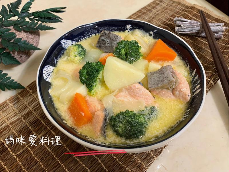 馬鈴薯燉鮭魚