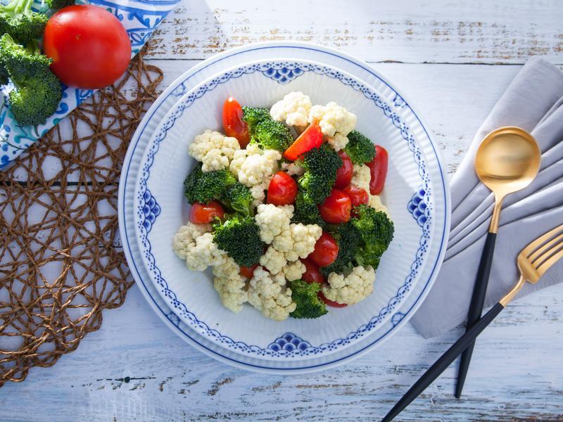 低醣料理 <沙拉> 雙色花椰菜沙拉