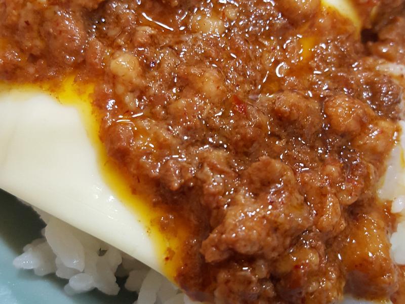 簡單肉醬起司飯