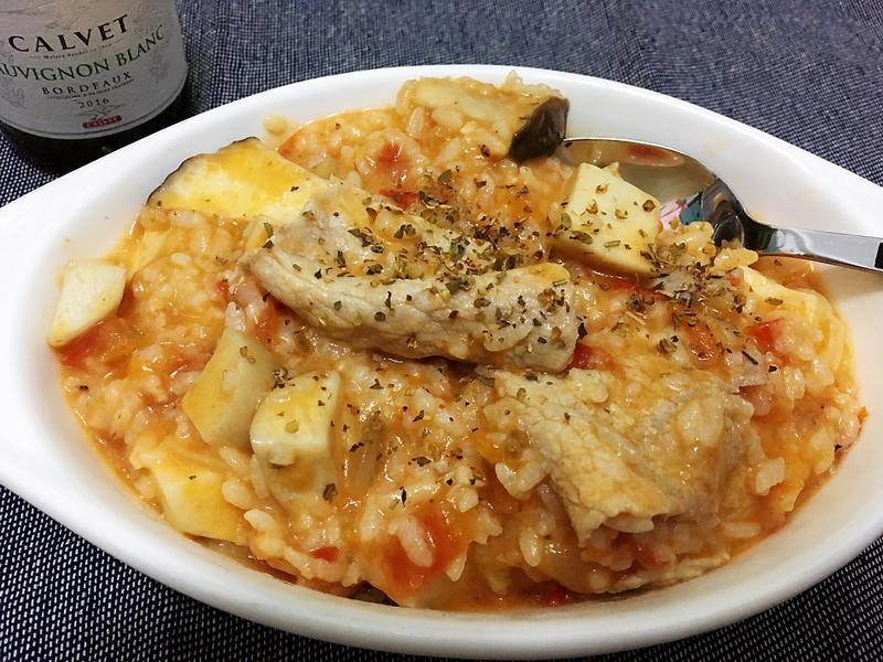 義式蕃茄奶油燉飯
