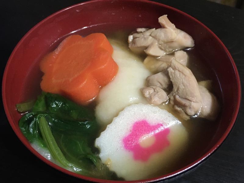 日式 年糕湯 雜煮