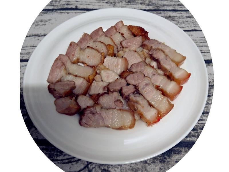 (氣炸鍋)自製鹹豬肉