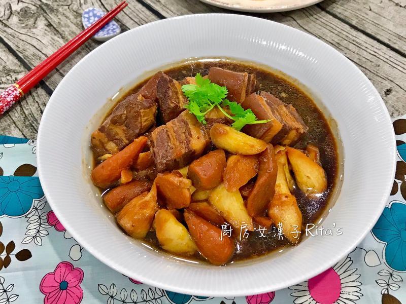 皎白筍滷肉