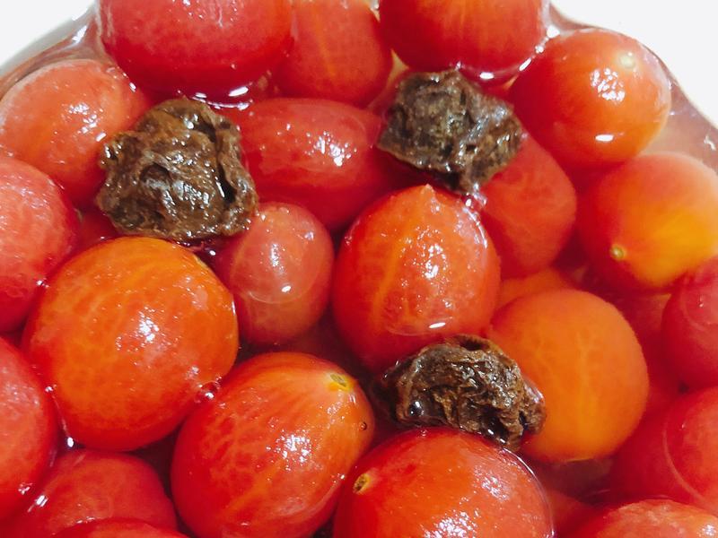 涼拌小菜-梅漬蕃茄