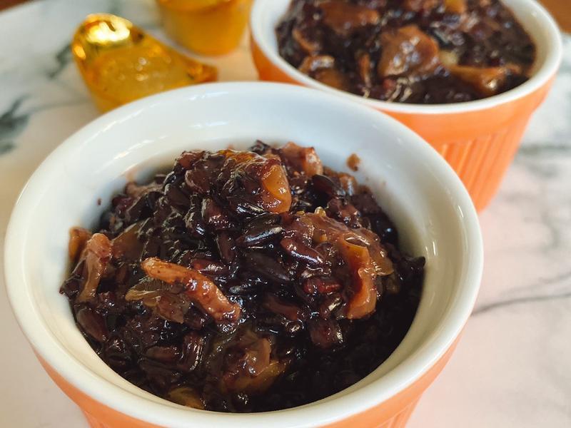 中式甜點 <甜品> 桂圓紫糯米