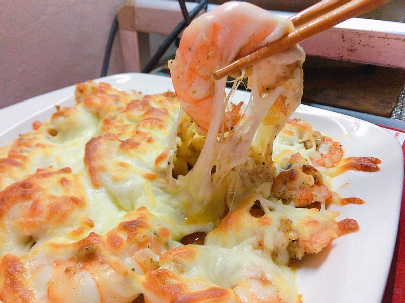 蒜蓉胡椒焗烤蝦🦐🦐🦐