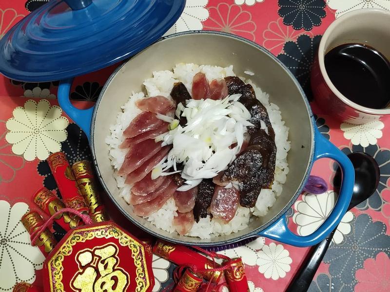 lanni 臘腸煲仔飯