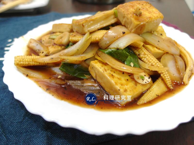 【家常菜】黑胡椒雞蛋豆腐