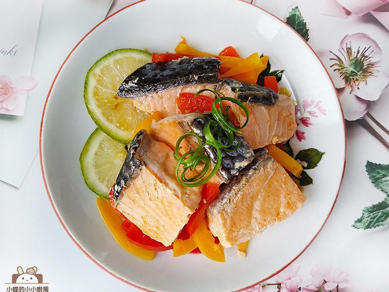 鮭魚南蠻漬~清甜酸香低醣料理