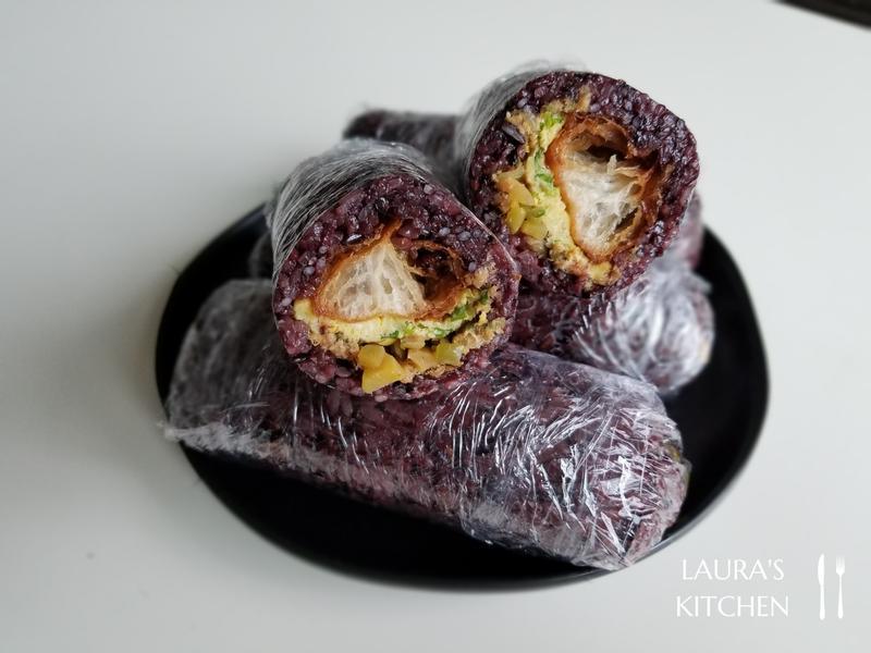 古早味紫米飯糰