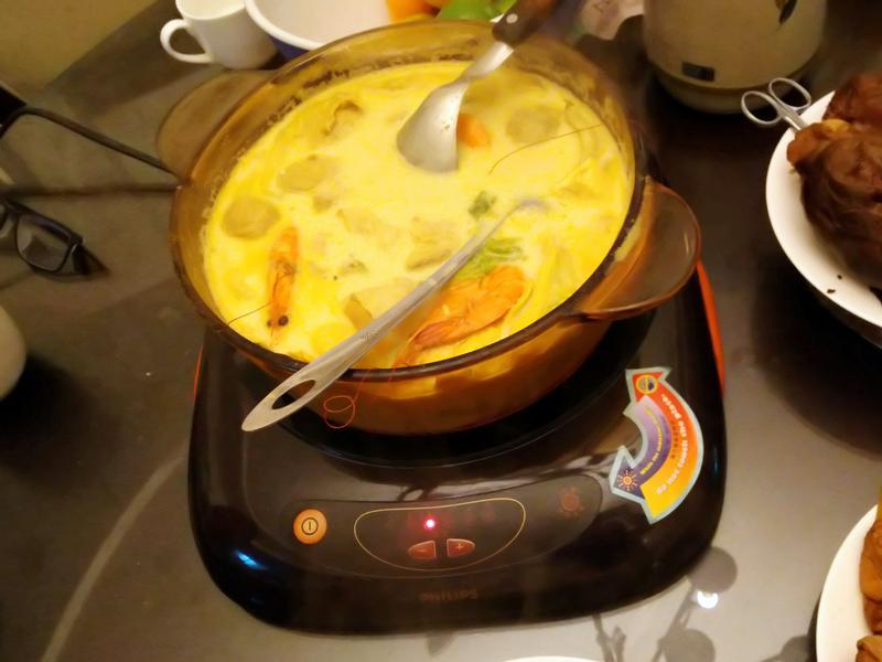 咖哩牛奶鍋