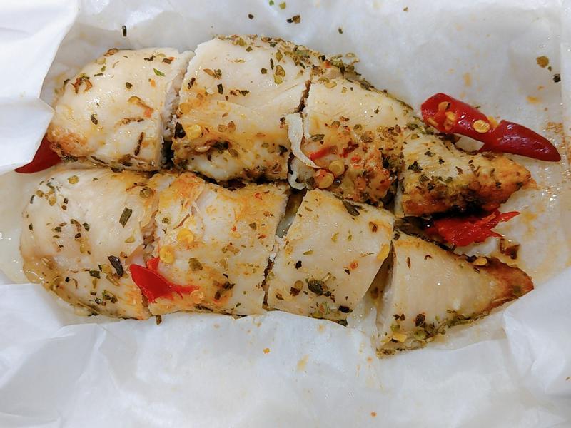 義式紙包雞胸肉