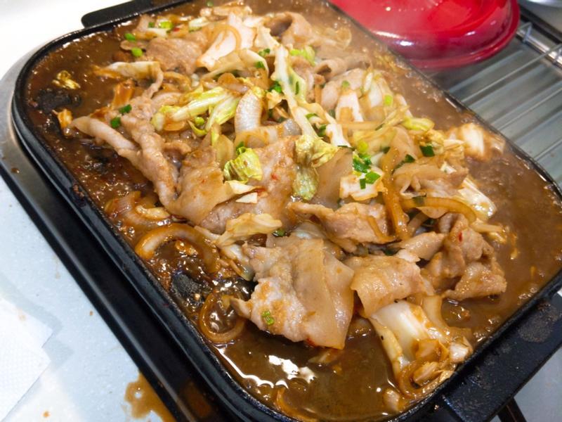 味增炒豬肉