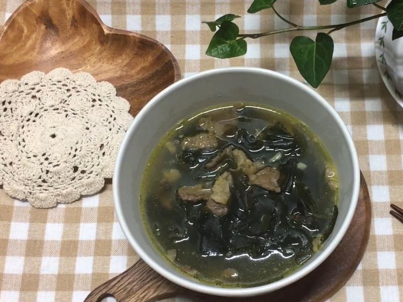 韓式 海帶湯(미역국)